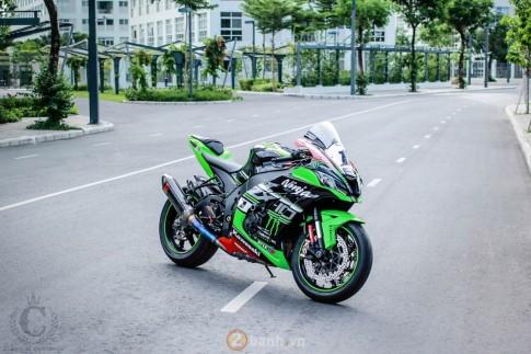 Siêu phẩm ZX10R 2016 trang bị tận răng những option hạng nặng tại Sài Gòn