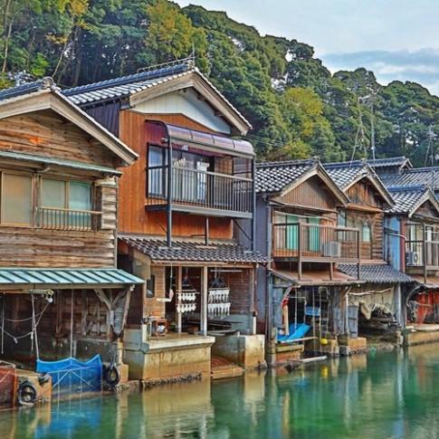 Tận thấy làng chài Nhật Bản đẹp không thua Venice