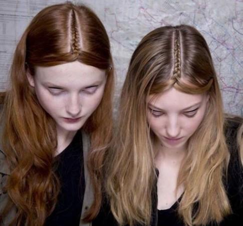 Tết tóc ngôi giữa - xu hướng cực hot dành cho giới trẻ