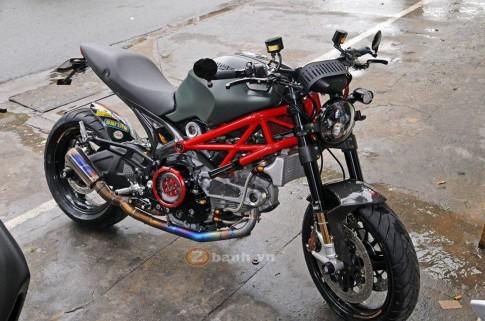 Thú dữ Ducati 795 khoe dáng với dàn đồ chơi hàng hiệu