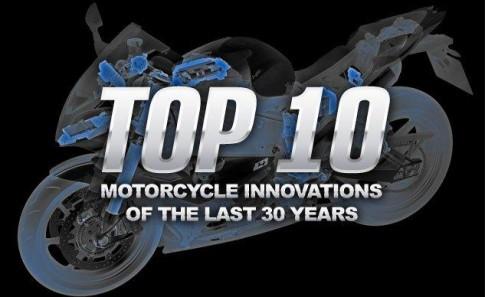Top 10 cải tiến công nghệ trên xe mô tô PKL trong 30 năm qua
