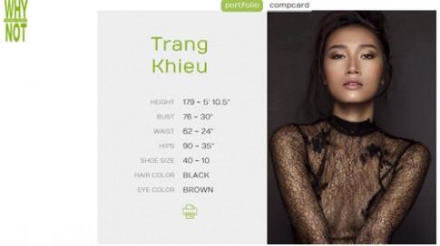 Trang Khiếu đầu quân cho công ty quản lý 'thiên thần' Victoria's Secret