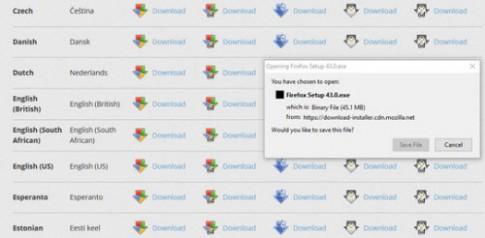 Trình duyệt web Firefox 64-bit chính thức phát hành