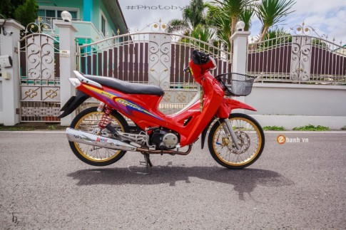 Wave 125 đầy cá tính và phong cách từ biker Thái