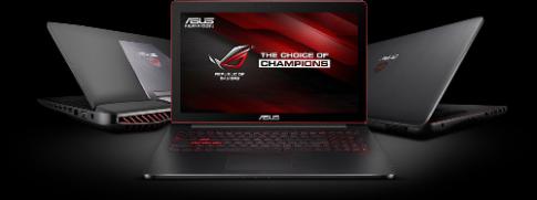 5 tiện ích trên laptop cho game thủ Asus ROG GL552JX