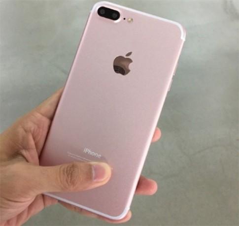 Ảnh thực tế iPhone 7 Plus màu vàng hồng