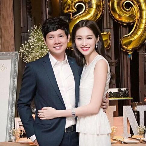 """Bạn trai """"chuẩn soái ca"""" công khai khoe hạnh phúc bên Hoa hậu Thu Thảo"""
