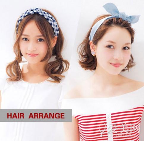 Bí quyết giúp mái tóc đơn điệu trở nên thu hút