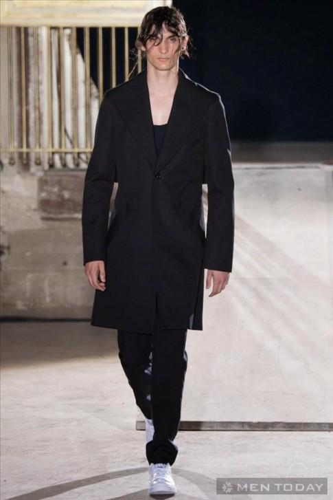 Bộ sưu tập thời trang nam Xuân Hè 2015 của Raf Simon