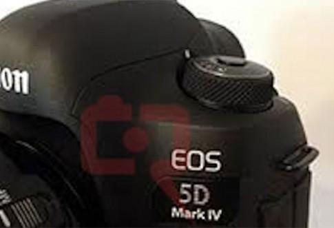 Canon 5D Mark IV lần đầu lộ diện