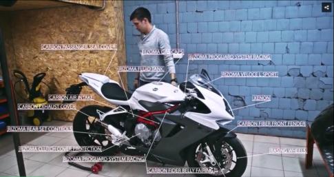 [Clip] MV Agusta F3 đầy lôi cuốn với quá trình lên đồ chơi cực chất