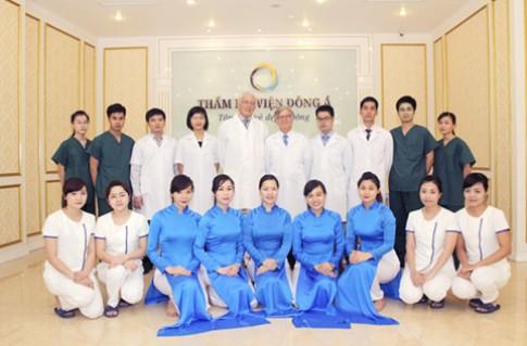 Cơ hội thẩm mỹ miễn phí 1 tỉ đồng tại chi nhánh thứ 4 TMV Đông Á.