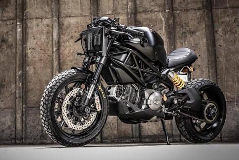 Ducati Monster 1100 dữ dằn trong bản độ Darth Mostro của K-Speed Customs