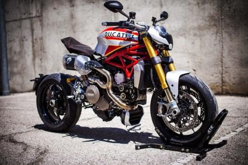 Ducati Monster 1200 Siluro bản độ kịch độc với phong cách Scrambler