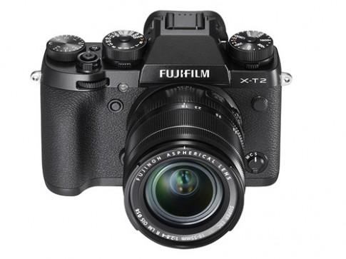 Fujifilm trinh lang X-T2 quay 4K, cam bien giong X-Pro2