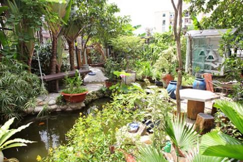 Ghen tị ngắm biệt thự vườn của ca sĩ Hồ Lệ Thu