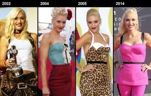 Gwen Stefani trẻ đẹp không nếp nhăn ở tuổi 46