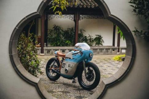 Honda CB550 voi phong cach xe dua Cafe Racer co dien cua cua Anthony Scott