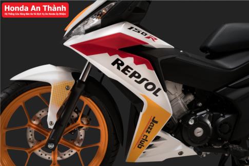 Honda Winner 150 sap co phien ban Repsol