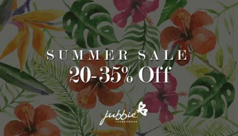 Jubbie ưu đãi HOT: giảm giá 20-35% toàn bộ sản phẩm.