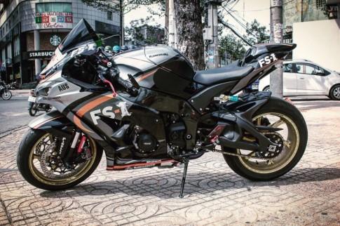Kawasaki Ninja ZX-10R 2016 độ siêu khủng của biker Sài Thành