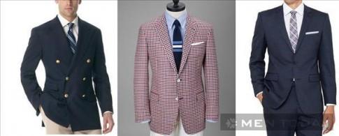 Khái niệm và cách phân biệt blazer, sport jacket