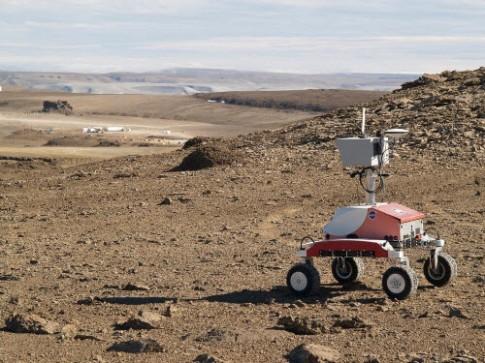 Khám phá sao Hỏa thu nhỏ trên Trái đất