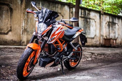 KTM Duke 390 độ đầy phong cách của biker Sài Thành