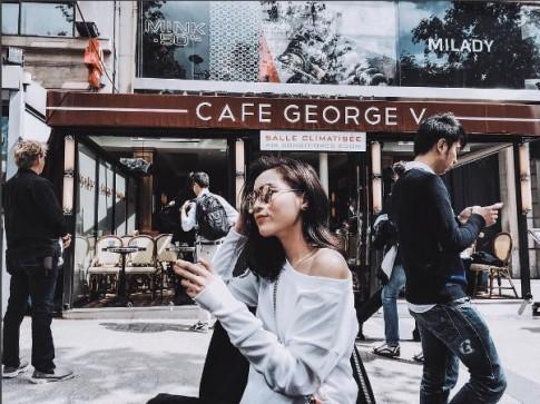 Kỳ Duyên sành điệu đi du hí với bạn trai ở Paris