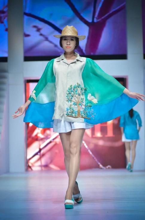Minh Hạnh đem mùa xuân thơ mộng vào thiết kế