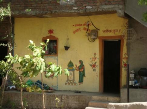 Ngôi làng nhà không cửa, két không khóa ở Ấn Độ