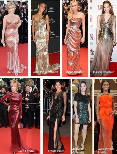 Những xu hướng thời trang trên thảm đỏ Cannes