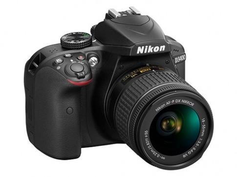 Nikon D3400 trình làng với kết nối SnapBridge, pin lớn