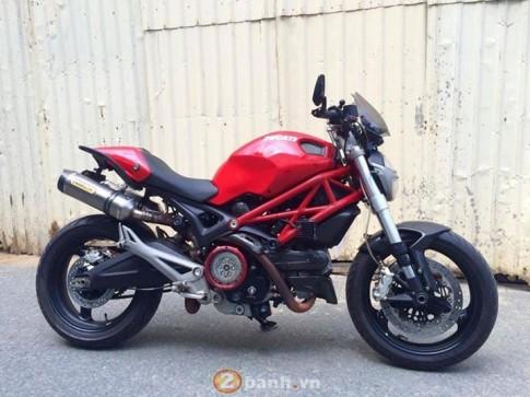 Quái vật Ducati 795 độ nhẹ nhàng dạo phố