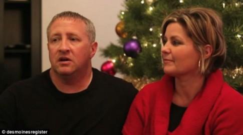 Rơi lệ ước nguyện Giáng sinh của người vợ quá cố gửi chồng