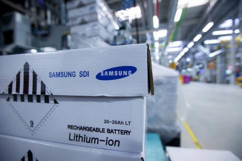 Samsung ngừng nhập pin Galaxy Note 7 từ công ty con