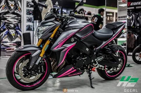 Suzuki GSX-S1000 phong cách Gao hồng đầy ấn tượng