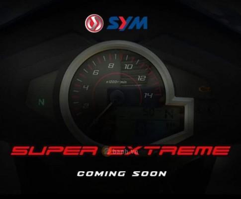 SYM tung ra mẫu xe côn tay hoàn toàn mới vào 26/8 tới