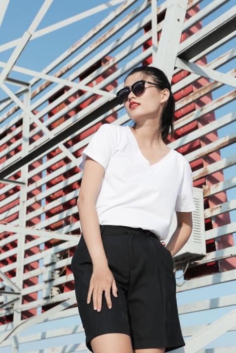 Thiên Trang gợi ý phối đồ với quần soóc, váy ngắn