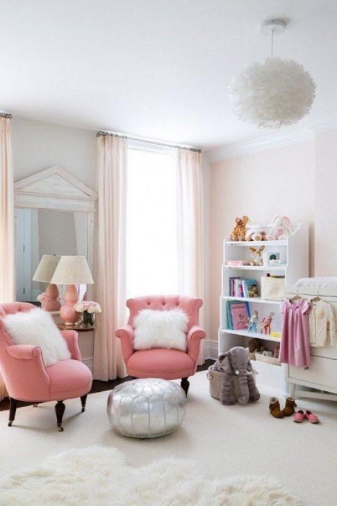 Trang trí nhà thêm lãng mạn với màu hồng
