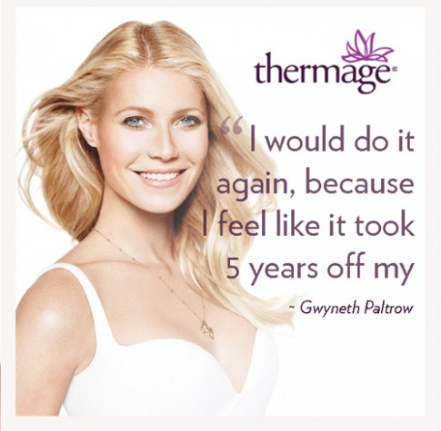 Trẻ đến 10 tuổi với Thermage tip 1200 450 chỉ 45 triệu đồng.
