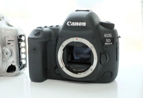 Video Canon 5D Mark IV chụp 7 khung hình mỗi giây