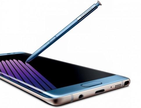 Video dùng thử Galaxy Note 7 lần đầu xuất hiện