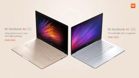 Xiaomi ra laptop siêu mỏng nhẹ giá chỉ từ hơn 11 triệu đồng