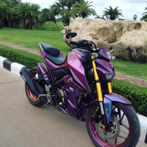 Yamaha M-SLAZ nổi bật với bộ cánh chuyển màu