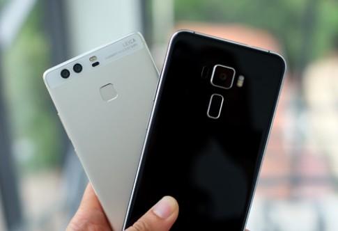 Zenfone 3 đọ camera giấu mặt với Huawei P9