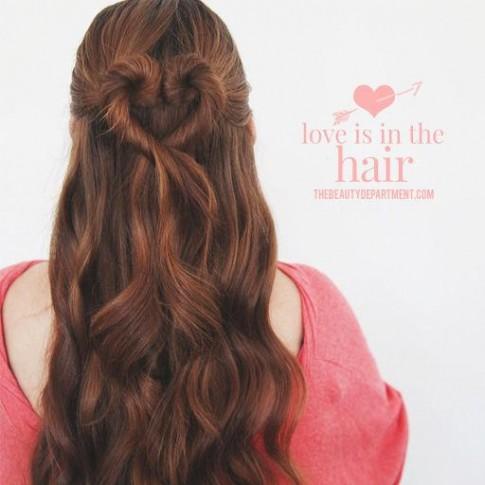 12 kiểu tóc tết trái tim đẹp cho nàng thật cuốn hút dịp lễ valentine