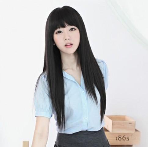 13 Kiểu tóc nữ dài thẳng đẹp tự nhiên của các sao Việt và Kpop Hàn Quốc 2016