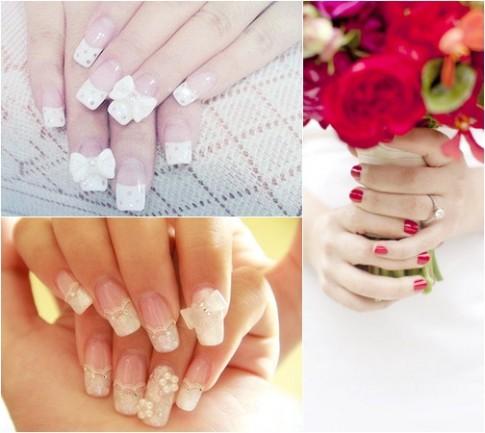 14 kiểu nail móng tay màu pastel đẹp 2016 nhẹ nhàng cho cô dâu nổi bật