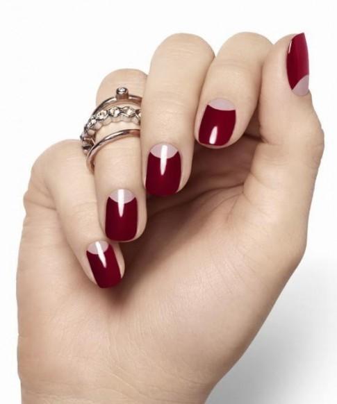 15 mẫu móng tay nail màu hồng đỏ đẹp 2016 tỏa sáng đi dự tiệc